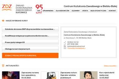 Centrum Kształcenia Zawodowego w Bielsku-Białej - Kurs na Wózek Widłowy Bielsko-Biała