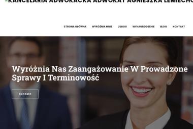 Kancelaria Adwokacka adwokat Agnieszka Lemiechowicz - Radca Prawny Rzeszów