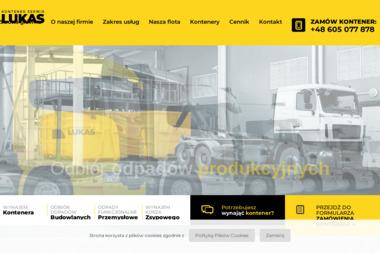 Lukaskontener - Wywóz Gruzu Bielsko-Biała