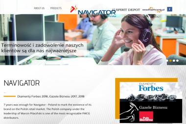 Navigator - Soki i napoje Warszawa