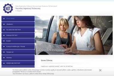 Federacji Stowarzysze艅 Naukowo-Technicznych NOT - Szkolenia techniczne S艂upsk