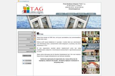 """""""T.A.G."""" s.c. - Bramy Ogrodzeniowe Dwuskrzydłowe Gdynia"""