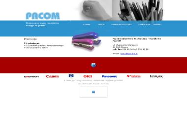 Przedsiębiorstwo Techniczno - Handlowe PACOM - Artykuły biurowe Gliwice