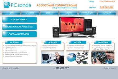 Pogotowie komputerowe PC sonda Paweł Stępniak - Pogotowie Komputerowe Warszawa