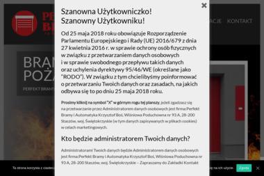 Perfekt Bramy i Automatyka - Bramy Staszów