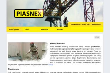PIASNEX - Piaskowanie Nowy Sącz