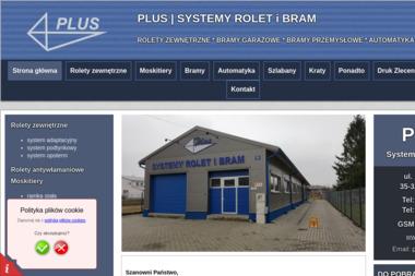 PLUS Systemy Rolet i Bram - Drzwi Garażowe Rzeszów