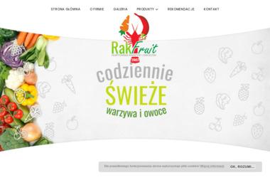 Hurtownia warzyw i owoców - Rakfruit - Warzywa Lgota Wielka
