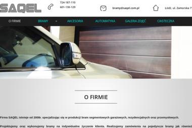 SAQEL - Bramy Garażowe Segmentowe Łódź