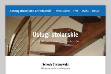 Schody Chronowski - Schody Gorzędziej