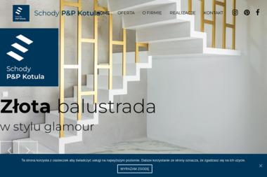 P&P SCHODY DRZWI - Schody drewniane Osowiec