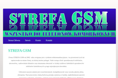 STREFA GSM - Serwis komputerów, telefonów, internetu Lublin