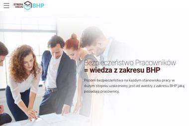 Strefa Usług BHP SP. Z O.O. - Szkolenia BHP Piekary Śląskie