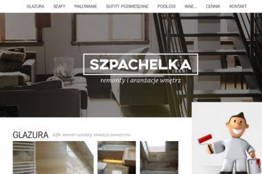 Szpachelka - Zabudowa balkonu Wrocław