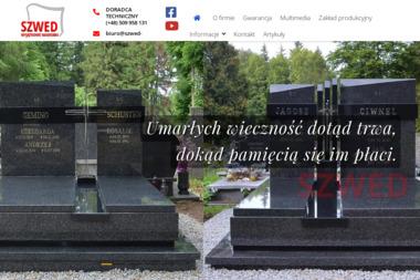 Kamieniarstwo Szwed-Granit - Nagrobki Strzegom