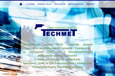 FHU TECHMET - Obróbka metali Żagań