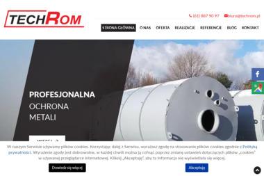 Techrom - Piaskowanie Poznań