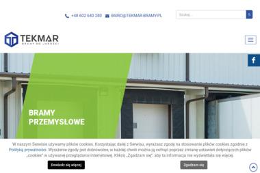 TEKMAR - Bramy garażowe Bydgoszcz