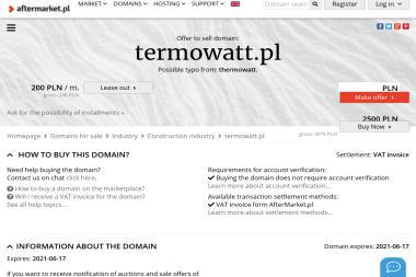 TERMO-WATT - Projektant instalacji elektrycznych Racibórz