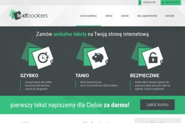 TextBookers - Copywriter Szczecin