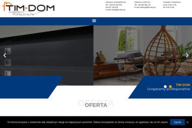 TIM-DOM - Sprzedaż Bram Kościerzyna