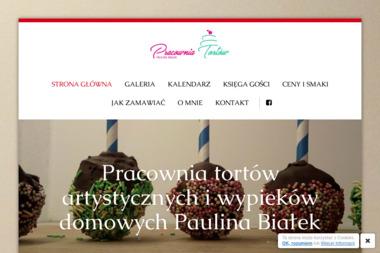 Pracownia tortów artystycznych i wypieków domowych Paulina Białek - Cukiernia Bełchatów