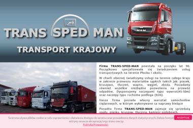 Trans Sped Man - Kamień Włocławek