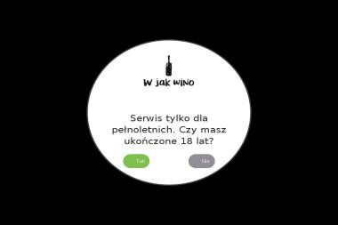 """""""W jak wino"""" - Alkohol Tychy"""