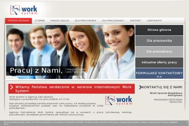 Work System - Outsourcing pracowników Łódź