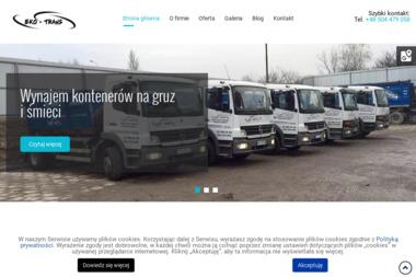 EKO-TRANS - Wywóz Ziemi Warszawa