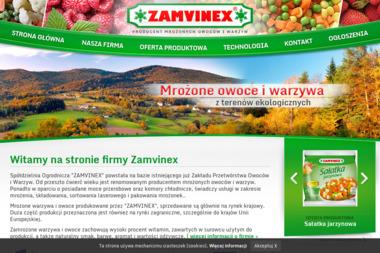 Zamvinex - Zaopatrzenie lokali Żegocina