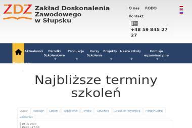 Zakład Doskonalenia Zawodowego w Słupsku - Dokształcanie Nauczycieli Słupsk
