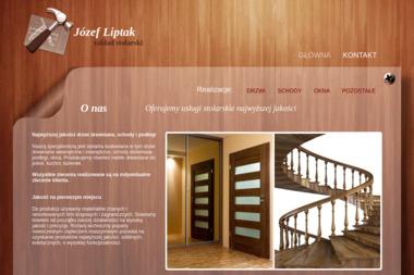 FPHU Józef Liptak - Schody Drewniane Na Beton Męcina