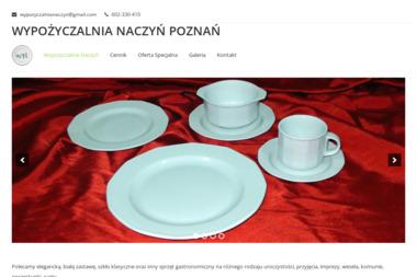 Wypożyczalnia Naczyń - Wypożyczanie sprzętu gastronomicznego Poznań