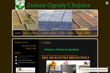 Zielone Ogrody - Ogrodzenia drewniane Chojnice