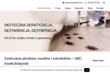 ABC Insekt - Dezynsekcja i deratyzacja Białystok