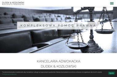 Adwokat Wieluń - Agnieszka Dudek - Adwokat Wieluń