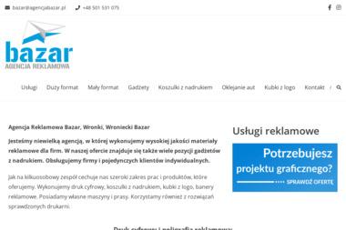 Bazar Agencja Reklamowa Sp. z o.o. - Poligrafia Wronki