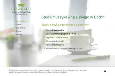 Szkoła Języka Angielskiego - Cognosco - Szkoła językowa Bochnia