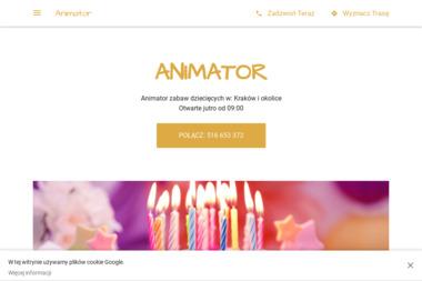 Firma Animator - Animatorzy dla dzieci Kłaj