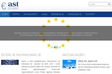 AST projekt - Dotacje Unijne Kraków