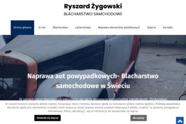 Blacharstwo Samochodowe Ryszrad Żygowski - Blacharstwo, lakiernictwo samochodowe Świecie