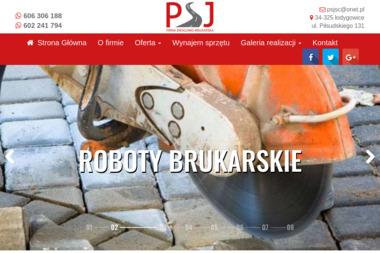 PSJ - Odśnieżanie dróg i placów Łodygowice