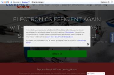 Contact Service - Serwis komputerów, telefonów, internetu Gdańsk