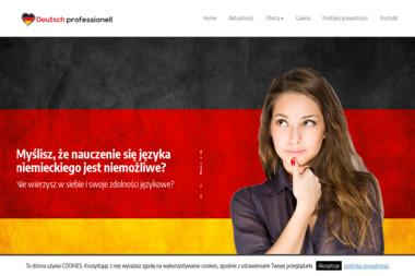 Deutsch Professionell - Kurs niemieckiego Częstochowa