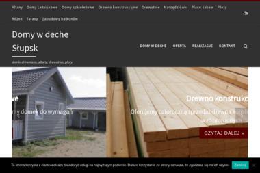 Domy w deche - Drewno Budowlane Głobino