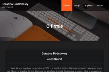 Doradca podatkowy Albert Nawrot - Doradca Podatkowy Online Legnica