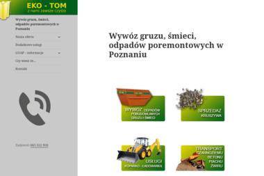 EKO-TOM - Nawierzchnie Poznań