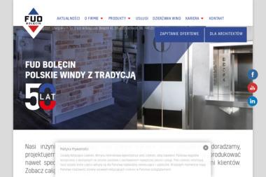 Fabryka Urządzeń Dźwigowych - Windy i dźwigi Sochocin