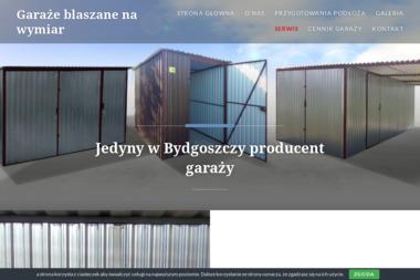 Garaże Blaszane, Piotr Bejmowicz - Garaże blaszane Bydgoszcz